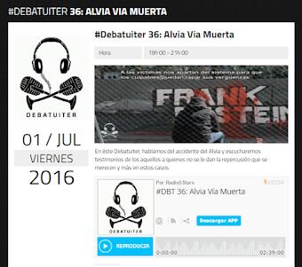 #Alvia Via Muerta es el programa de debate sobre el accidente de Angrois. ¡Escúchalo aquí!