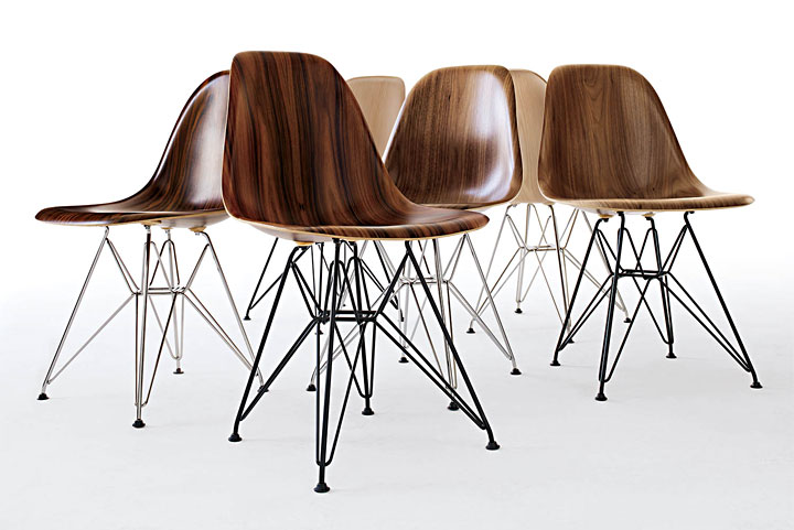 Admiring: Eames Molded Wood Chairs