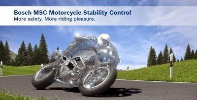Tehnologia de siguranta Bosch pentru motociclisti