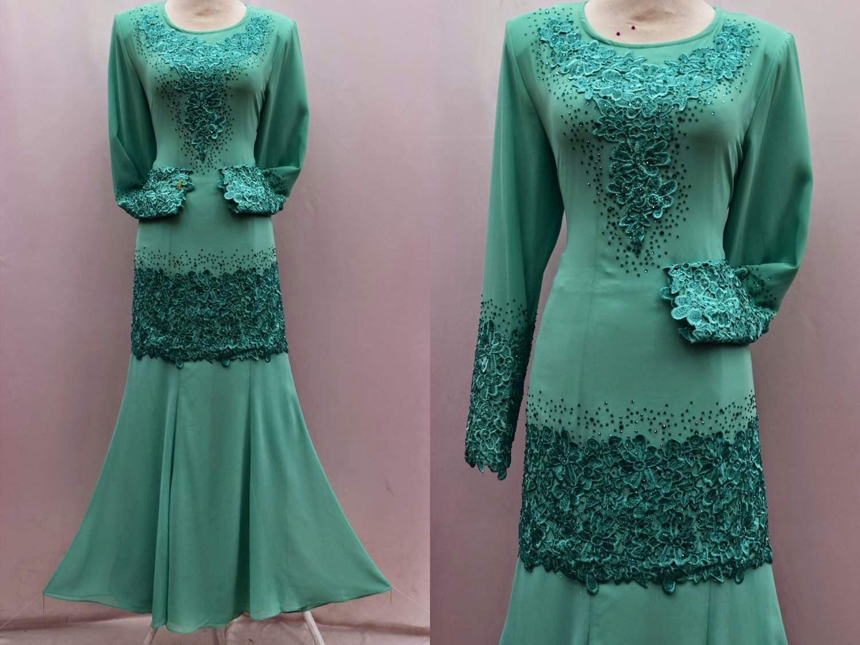 BUTIK FEMINANI: Baju Kurung Moden FD Design Kod BFH 963