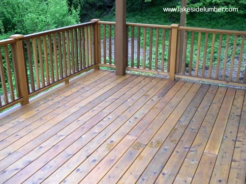 Terraza deck de madera