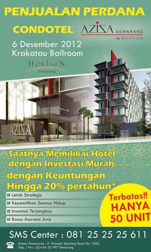 Soft Launching Aziza Condotel Semarang