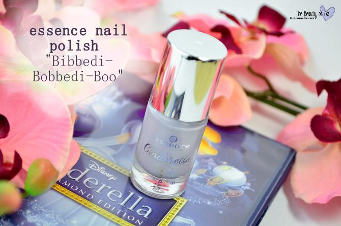 Review essence Cinderella Nail Polish BIBBEDI-BOBBEDI-BOO