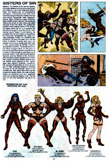 Hermanas del Pecado (ficha marvel comics)