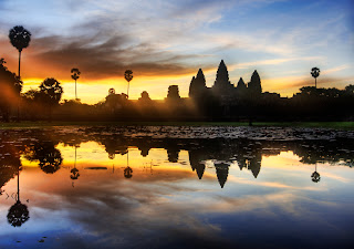 sunrise over Angkor Wat Tours,Cambodia Tours,Cambodia Tour
