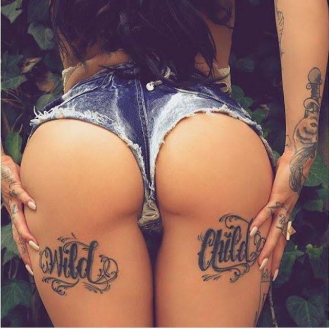 Des Belles fesses tatouer