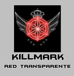 Killmark Red Transparent