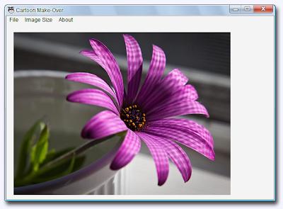 Cartoon Make-Over , convert photos into cartoons , image editing software