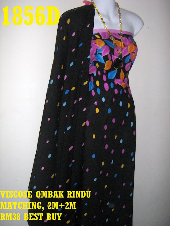 VM 1856D: VISCOSE MATCHING OMBAK RINDU, 2M+ 2M