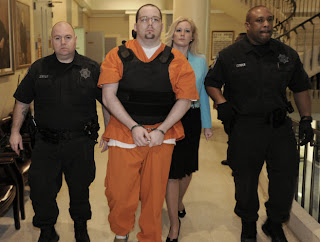 A man who killed his estranged wife and four other people in Tennessee in 2009 admitted Friday to killing a sixth person in north Alabama at the start of the rampage.
