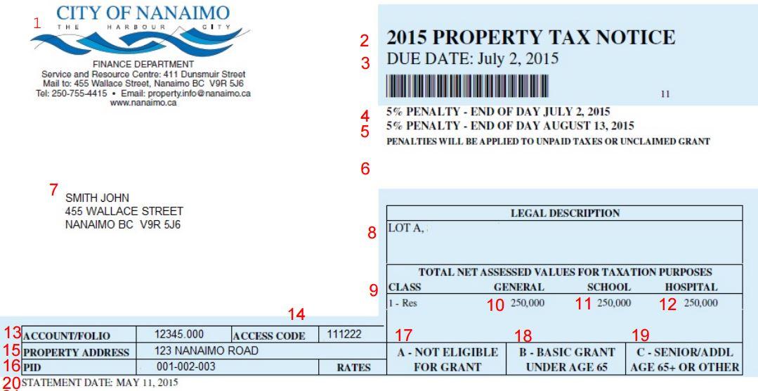 property description sample