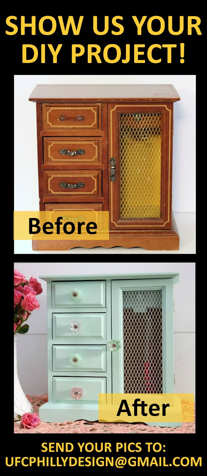 Show us your before & after Uhuru Furniture!