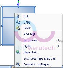 Cara Memasukan Teks Pada Shape