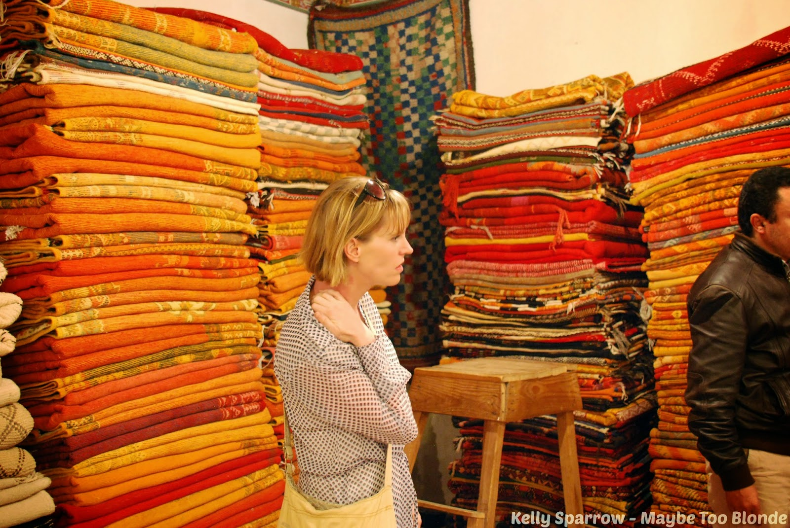Marrakech rug shops