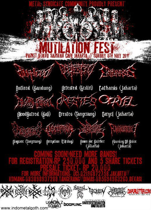 METAL SYNDICATE COMMUNITY PROUDLY PRESENT