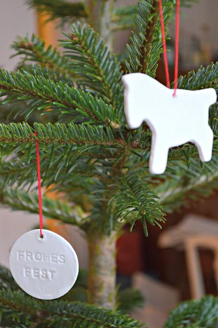 Weihnachtsbaum Anhänger selbstgemacht