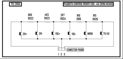 plaqueta control frente code 40-21E11G-KEA1XG