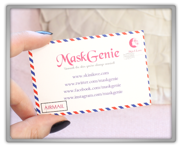 MaskGenie September Pouch review haul mask pack sheet masksgeniesfavproducts beauty blogger asian