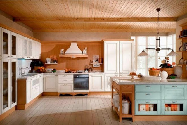 3300 3 or 1401695895 تصميم وديكور مطبخ بمساحة كبيرة بالصور