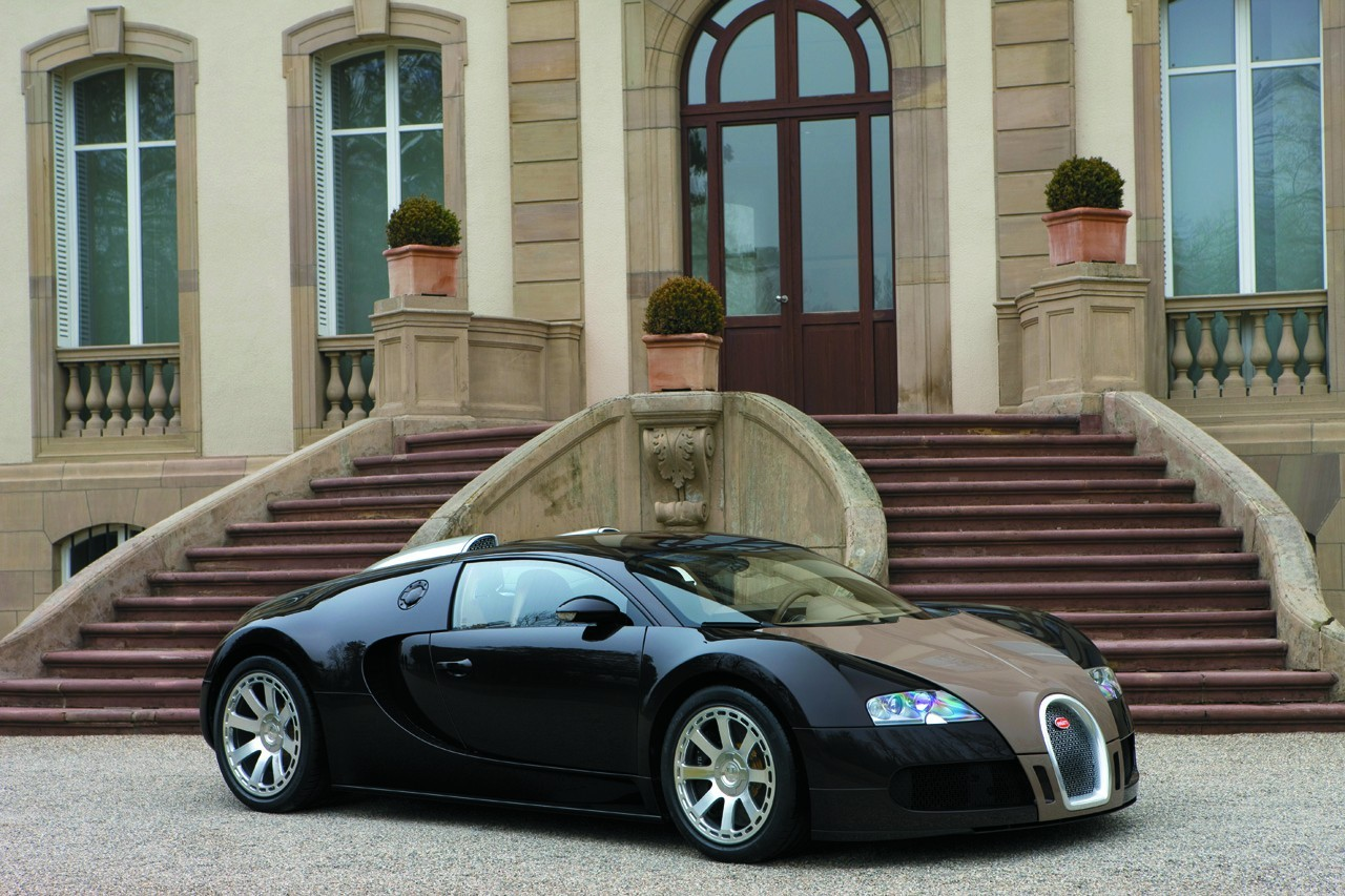 Bugatti Veyron The Most Powerful Car In The World