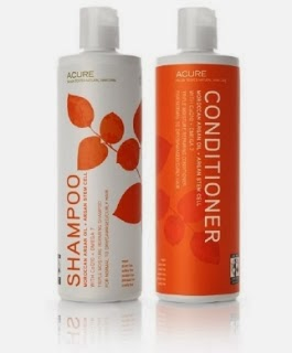 Acure moroccan argan oil shampoo and conditioner