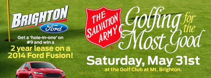 "Register for the 3rd Annual Salvation Army ""Golfing for the Most Good"" Golf Classic"