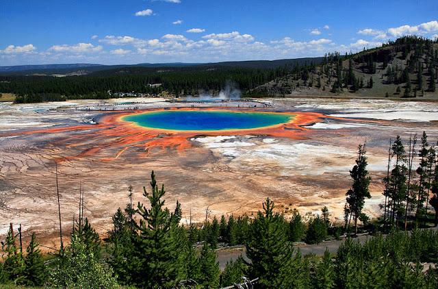 Grand Prismatic Spring (Parco Nazionale dello Yellowstone - USA) - Le Meraviglie della Natura