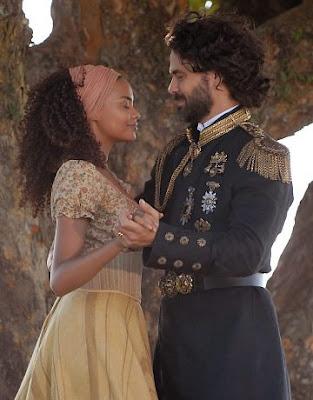 foto do rei augusto e maria cesária em cordel encantado