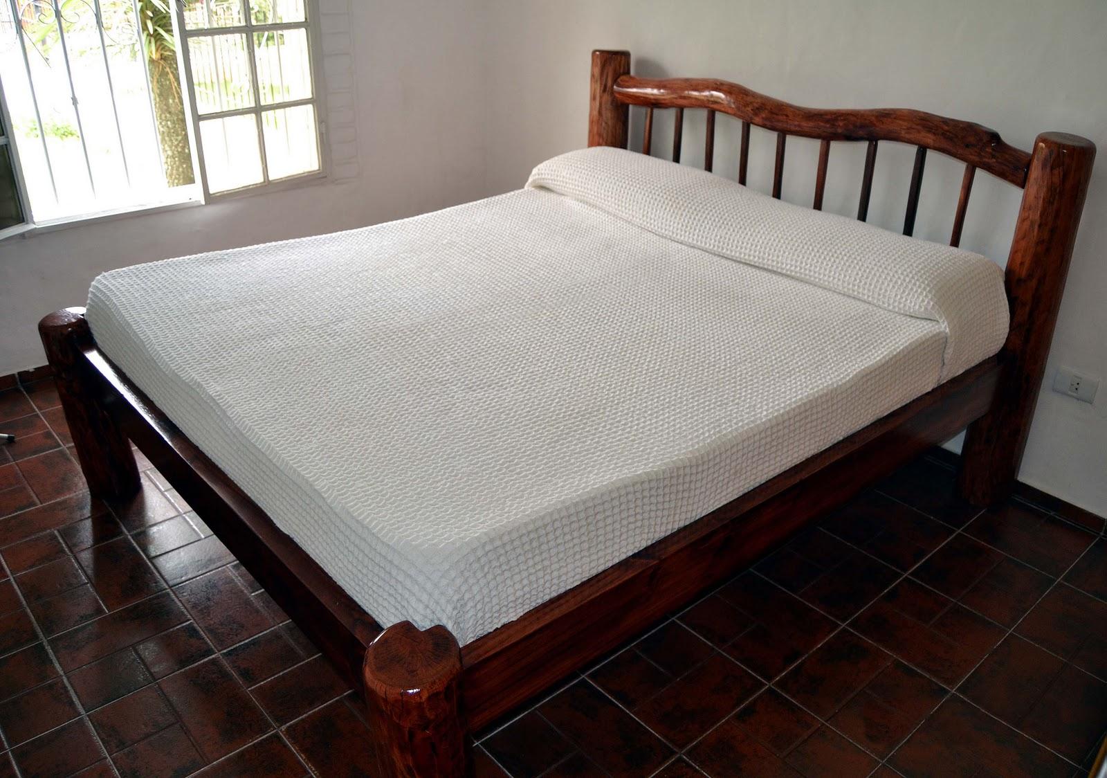 Muebles de quebracho colorado cama matrimonial for Cama matrimonial precio