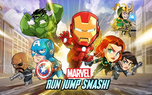 Marvel Run Jump Smash Apk İndir Full - Son Sürüm
