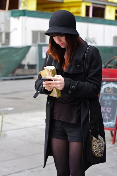 Seattle Street Style all black