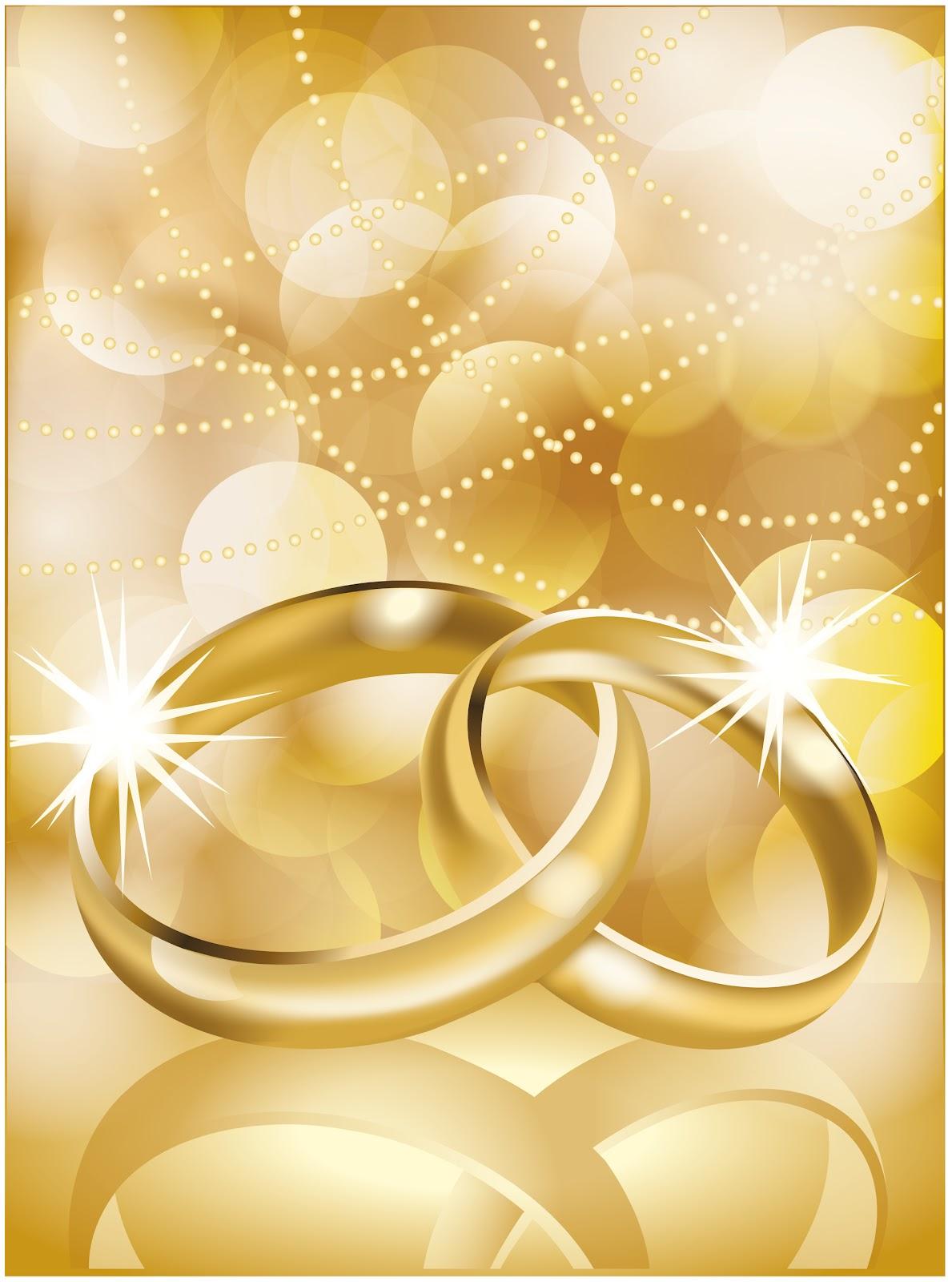Matrimonio Para Imprimir Alianzas Doradas Anillos De Matrimonio Para