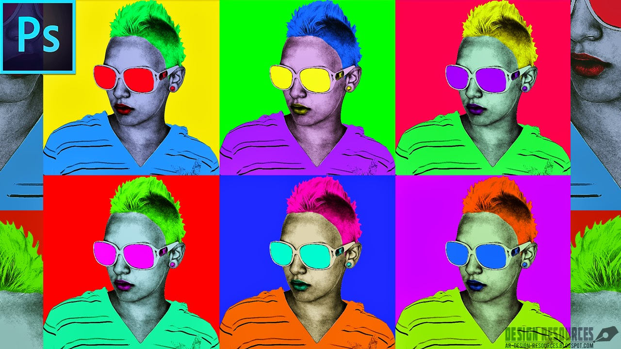 how to create andy warhol style pop art  u2014 photoshop