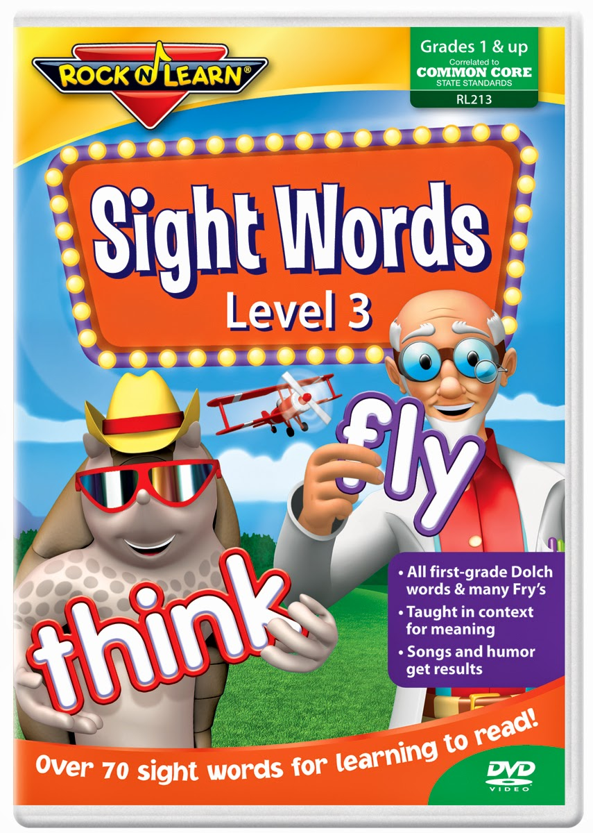 Sight Word Blocks Rock 'n Learn Sight Words