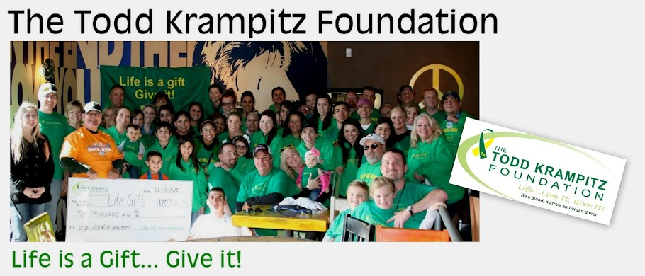 The Todd Krampitz Foundation Blog