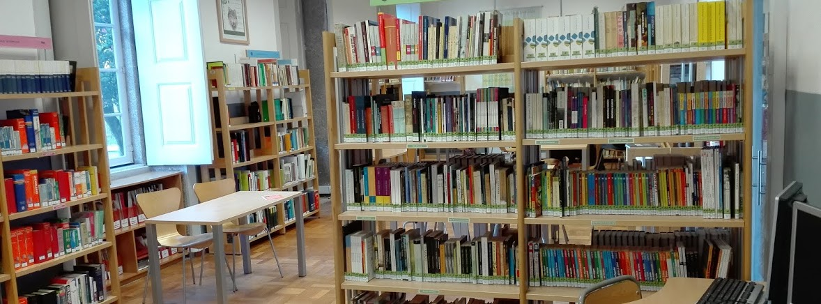 A nossa biblioteca