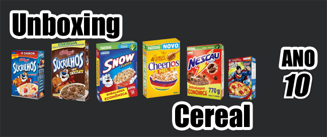 Unboxing Cereal