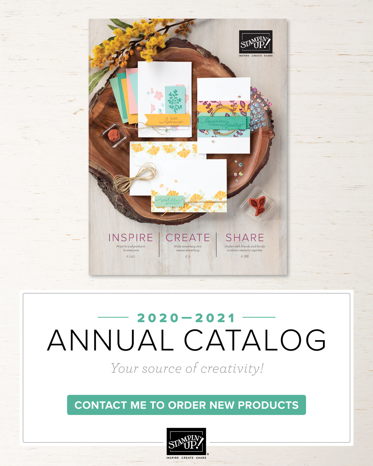 Reserve your FREE catalog!