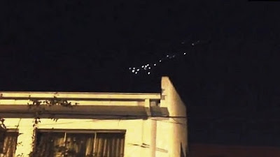UFO Squadron sighting in Chile