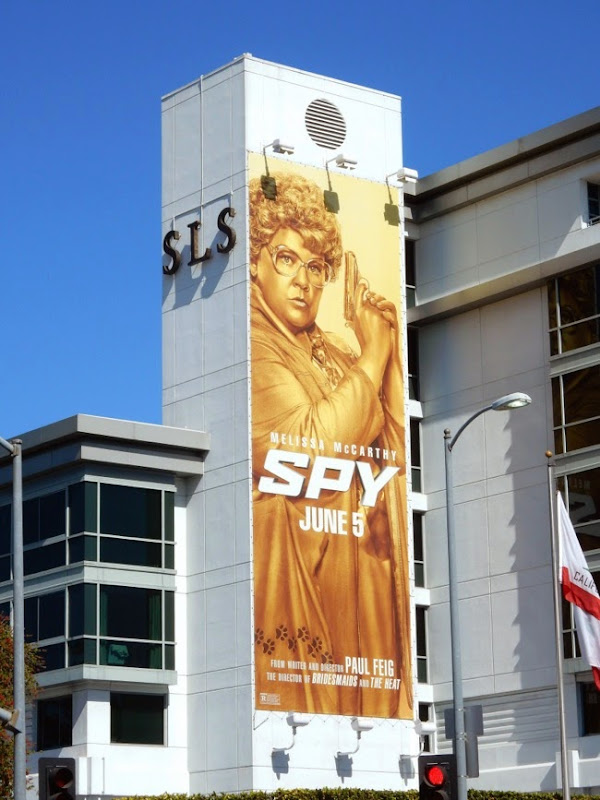 Gold Spy movie billboard