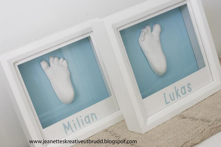 Hvordan ta håndavtrykk av baby