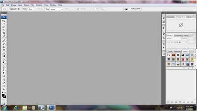 screen shots of photoshop window