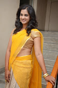 Nanditha raj latest photos in half saree-thumbnail-4