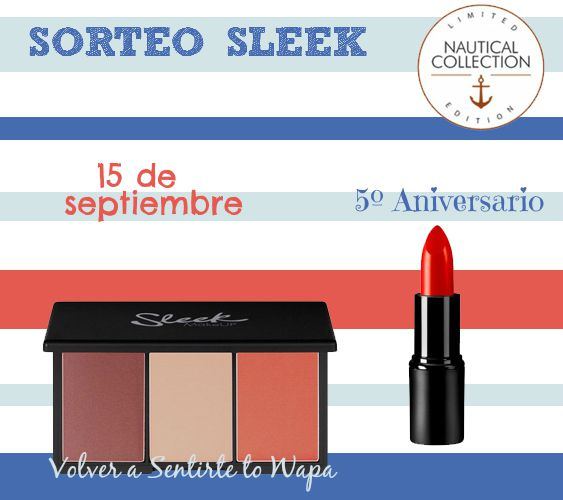Sorteo Colección NAUTICAL de SLEEK