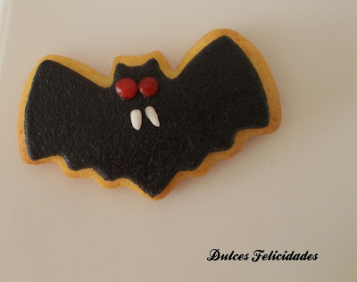 Galletas vampiro halloween