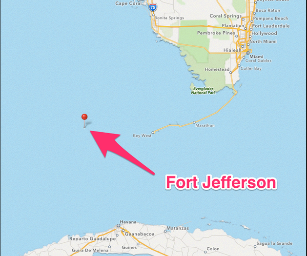 dry tortugas cruiser destination