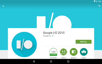 Google I/O 2015 Official App