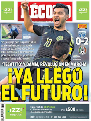 México derrota a Honduras