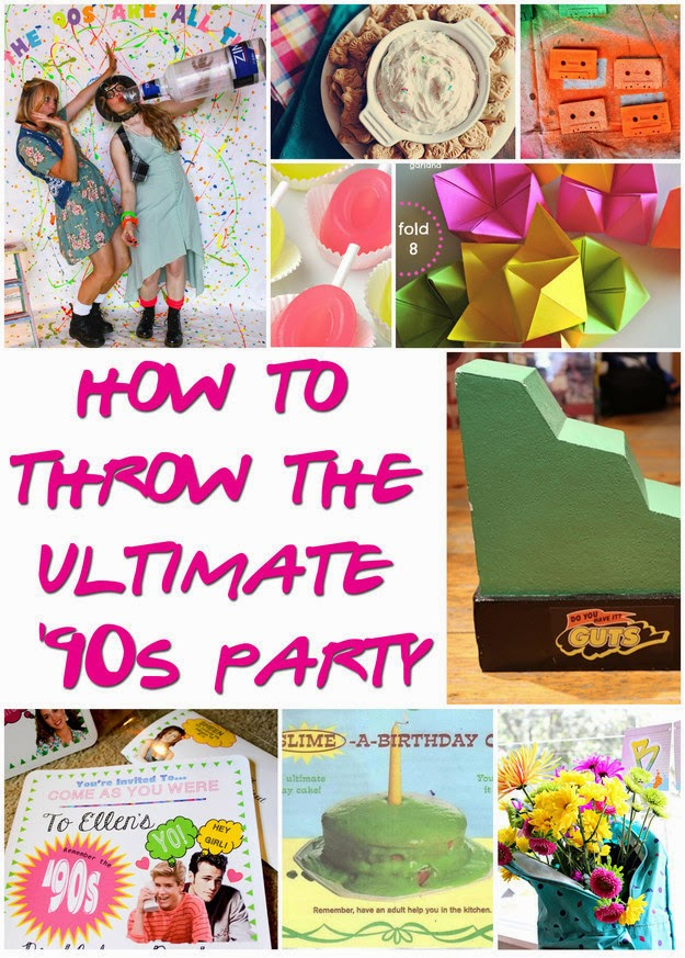 Every little detail by event19 ultimate 39 90s party for 90 s party decoration ideas