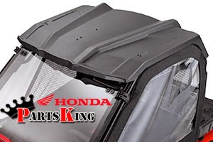 honda pioneer  accessories bumpers windshields roof winches